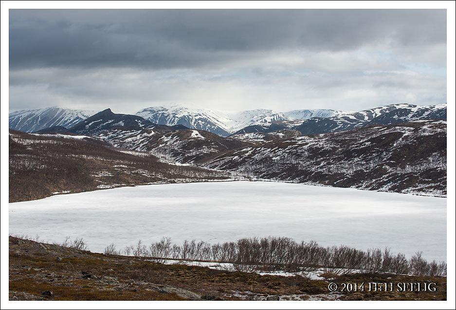 Noch immer regiert in den Bergen der Winter